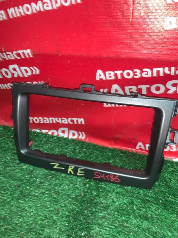 Рамка магнитофона Toyota Corolla Fielder ZRE144G 2ZR-FE 08.2007 55405-12A30