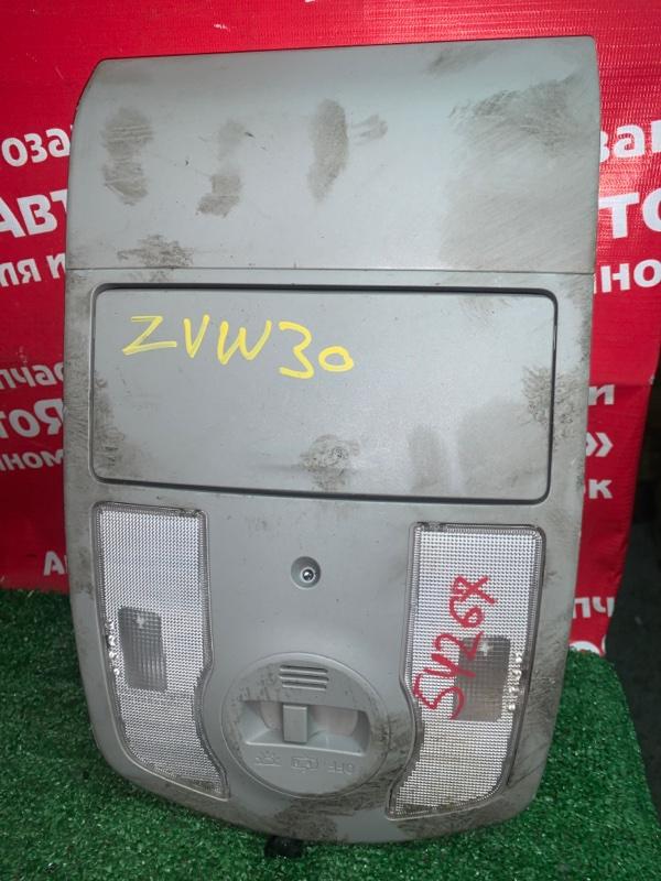 Плафон салона Toyota Prius ZVW30 2ZR-FXE 04.2009 водительский
