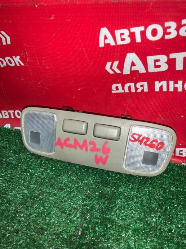 Плафон салона Toyota Ipsum ACM26W 2AZ-FE 2005.06
