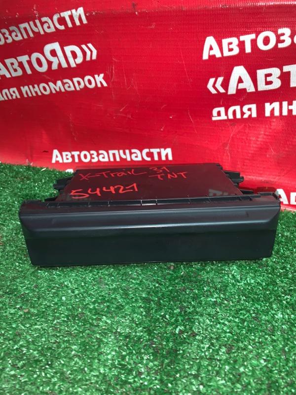 Рамка магнитофона Nissan X-Trail TNT31 QR25DE 08.2007 68475JG00A кармашек
