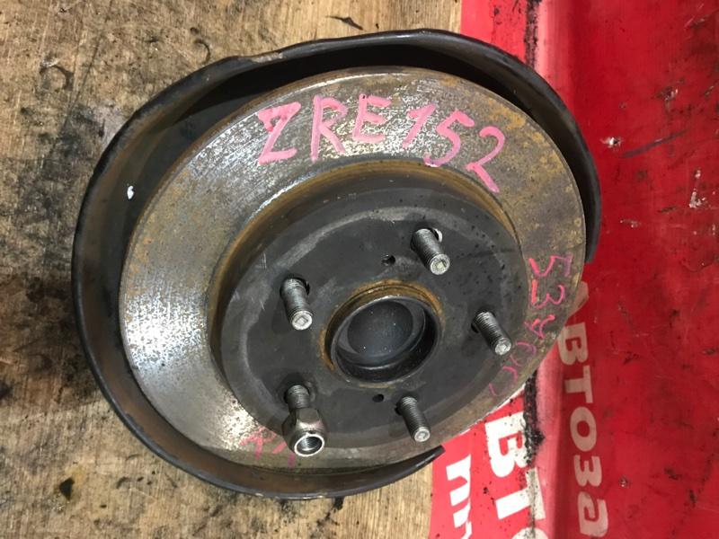 Ступица Toyota Corolla Rumion ZRE152N 2ZR-FE 01.2008 задняя правая Цена с диском, датч. ABS, колодк., без
