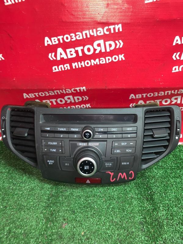 Магнитола Honda Accord CU2 K24A 2008 39050-TL3-J01