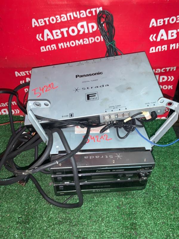 Магнитола Nissan X-Trail TNT31 QR25DE 08.2007 Выдвижной монитор CN-HDS965D + CN-HDS965TD