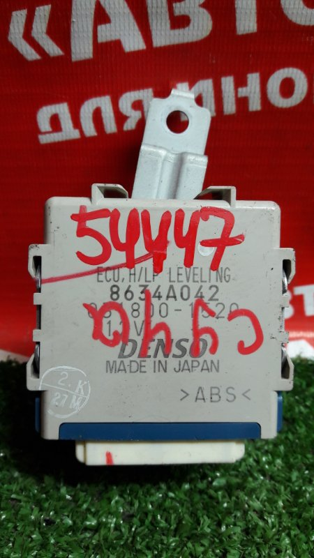 Блок коррекции фар Mitsubishi Lancer X CY4A 4B11 03.2008 8634a042