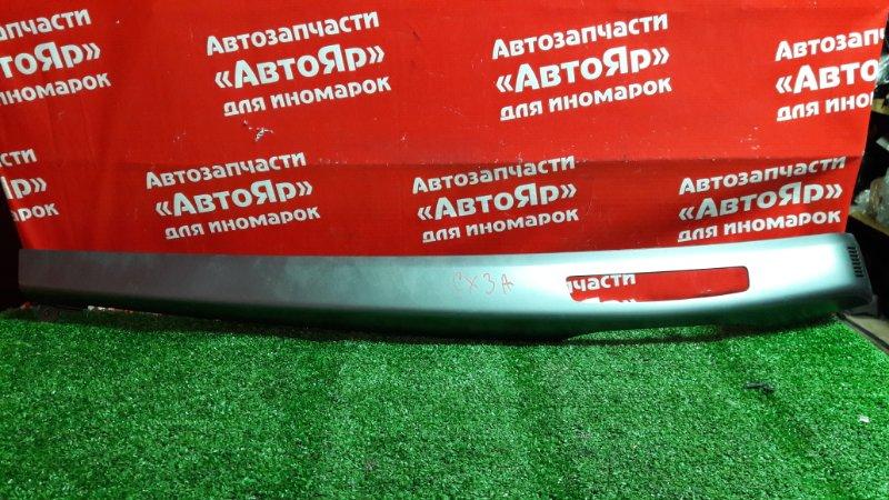 Накладка пластиковая в салон Mitsubishi Lancer X CX3A 4B10 03.2010 На торпеду