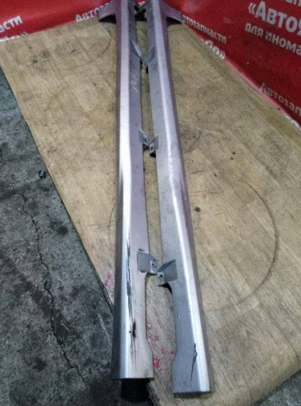 Порог Honda Fit Shuttle GP2 LDA 2011 комплект 2шт, дефект креплений