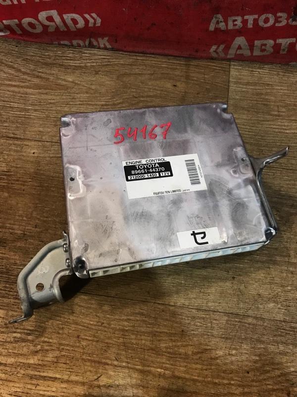 Блок управления efi Toyota Ipsum ACM26W 2AZ-FE 2005.06 89661-44370