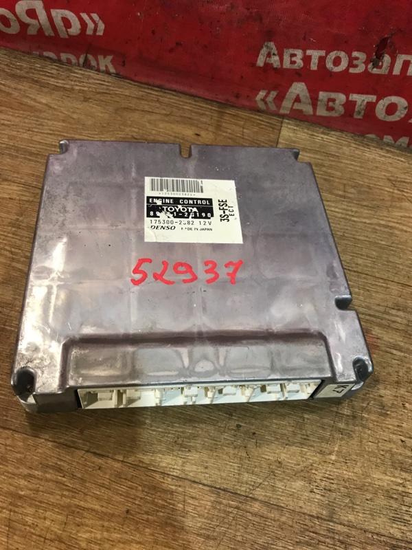 Блок управления efi Toyota Corona Premio ST210 3S-FSE 04.1999 89661-2G190