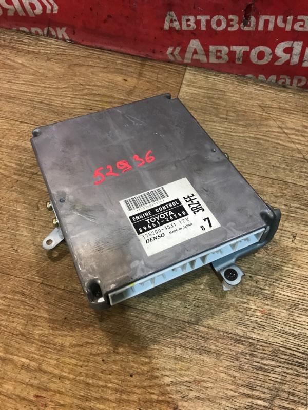 Блок управления efi Toyota Regius RCH47W 3RZ-FE 10.1999 89661-26750