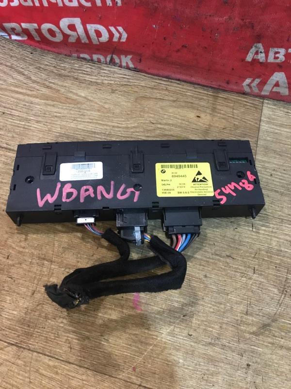 Блок управления Bmw 525I E61 M54B25 08.2004 6949445 13580205 блок управления подогревом сидений