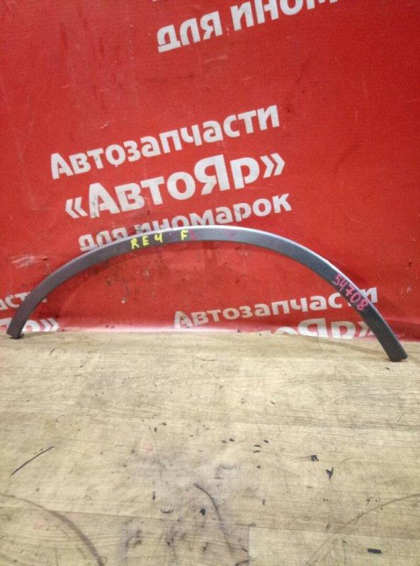 Накладка на крыло Honda Cr-V RE4 K24A 2009 передняя левая дефект 1го крепления