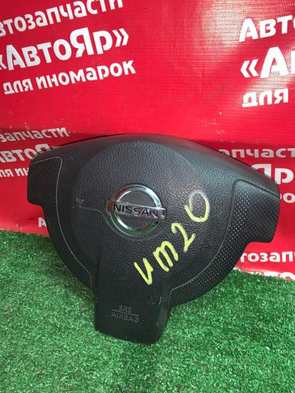 Airbag на руль Nissan Nv200 VM20 HR16DE 04.2012 с зарядом, дефект заглушки.