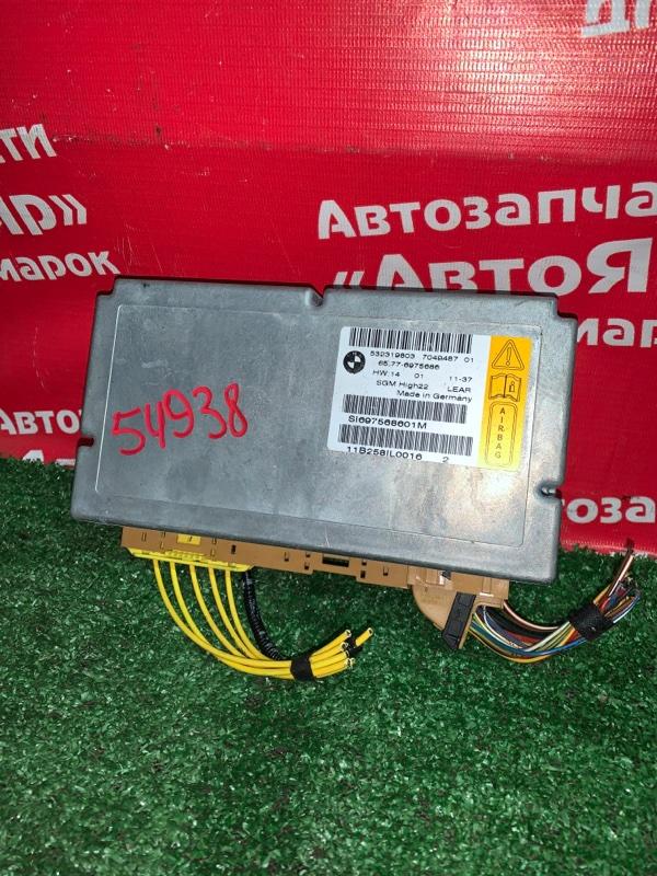 Блок управления airbag Bmw 525I E60 N52B25A 04.2005 65.77-6975686