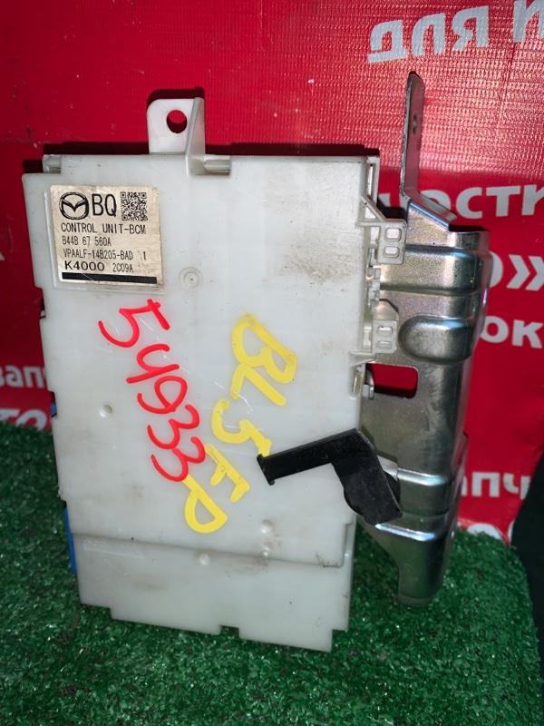Блок управления Mazda Axela BL5FP ZY-VE 2012 B44B67560A блок комфорта