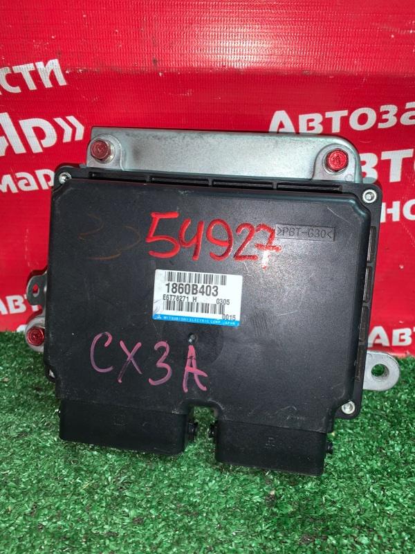 Блок управления efi Mitsubishi Lancer X CX3A 4B10 03.2010 1860B403