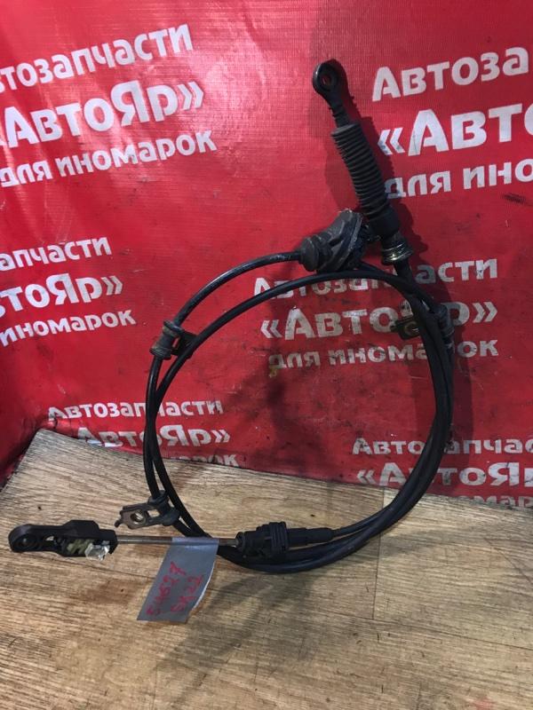 Трос переключения акпп Mazda Bongo SK22M R2 08.2002 дефект на фото, S42A-46-500G.