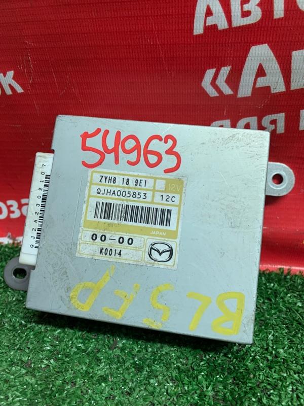 Блок управления Mazda Axela BL5FP ZY-VE 2012 ZYH8 18 9E1