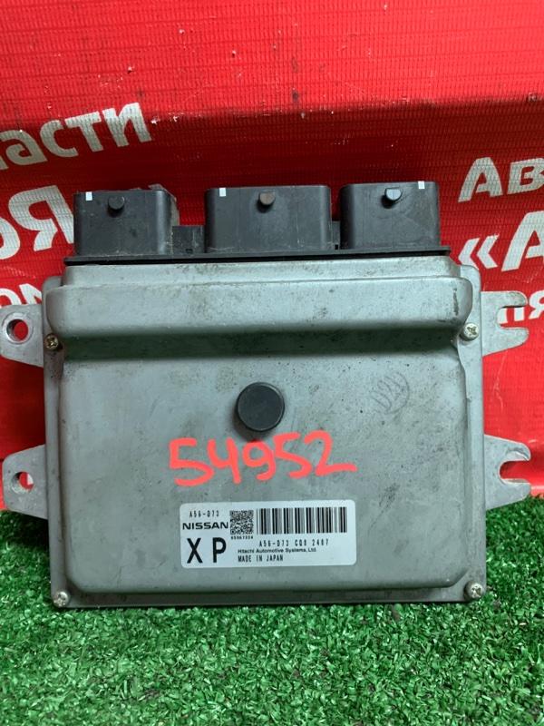 Блок управления efi Nissan Nv200 VM20 HR16DE 04.2012 A56-D73. Механика