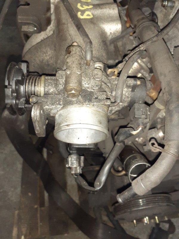 Заслонка дроссельная Toyota Liteace Noah SR50G 3S-FE 03.2000 ДХХ 22270-74270, ДПЗ 89452-33030