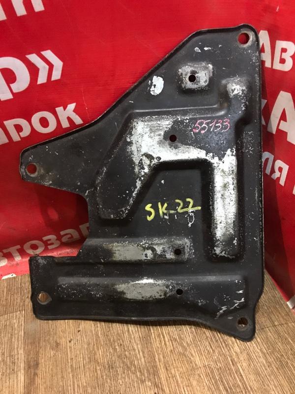 Защита двигателя Mazda Bongo SK22M R2 08.2002 железная под поддон