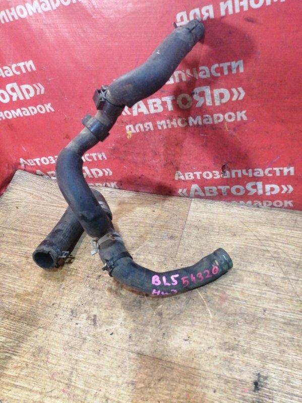 Патрубок Mazda Axela BL5FP ZY-VE 2012 охлаждения, нижний