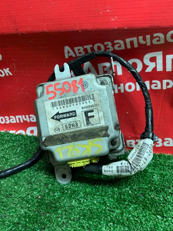 Блок управления airbag Mazda Bongo SK82V F8 11.2008 W002T80171