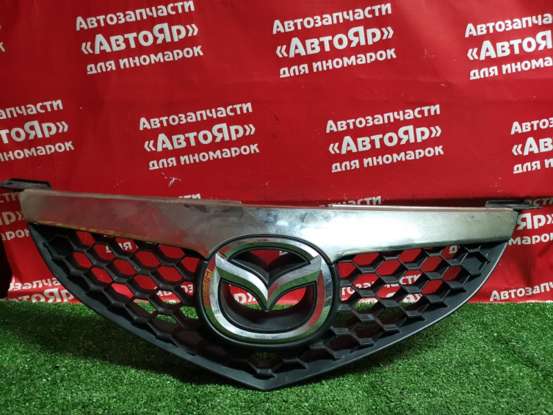Решетка радиатора Mazda Axela BK5P ZY-VE 10.2007