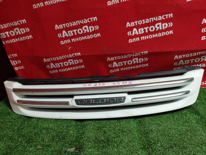 Решетка радиатора Toyota Caldina ST215G 3S-FE 12.2000