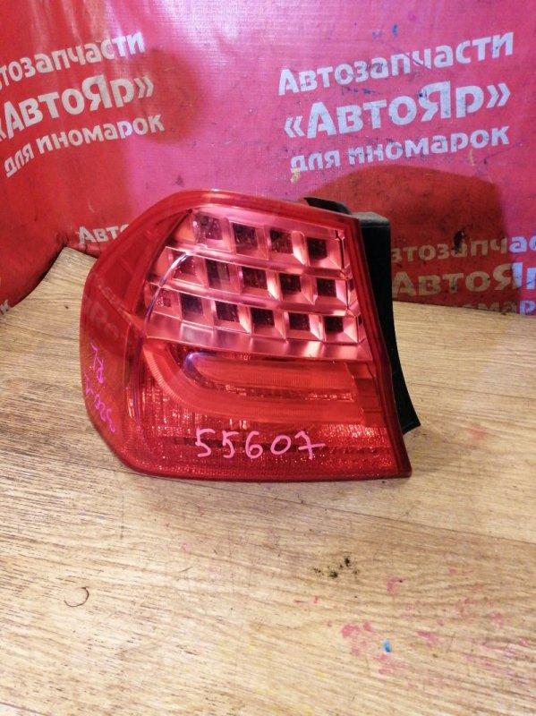 Стоп-сигнал Bmw 320I E90 N46B20B 09.2008 задний левый