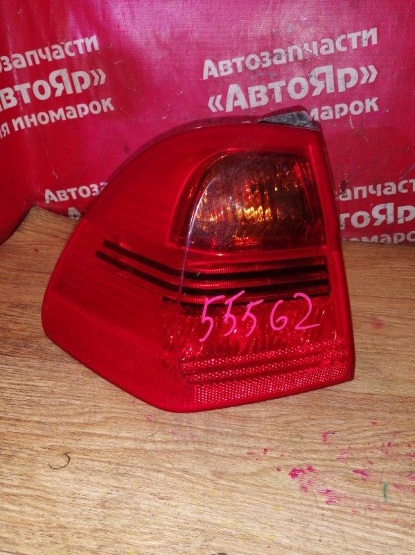 Стоп-сигнал Bmw 335I E91 N54B30A 11.2006 задний левый 27.61