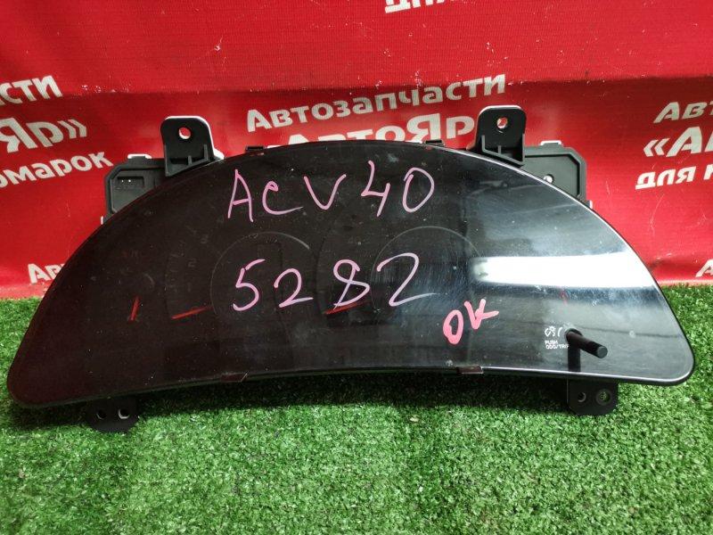 Комбинация приборов Toyota Camry ACV40 2AZ-FE 02.2009 83800-33F20 небольшой дефект креплений