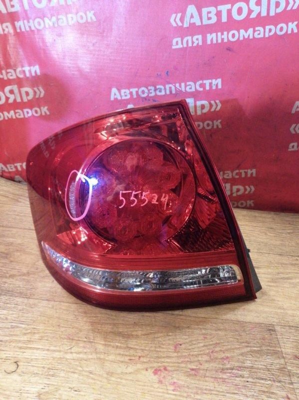 Стоп-сигнал Toyota Allion ZZT240 1ZZ-FE 03.2005 задний левый 20-443