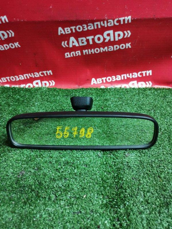 Зеркало салонное Honda Cr-V RE4 K24A 12.2006 с креплением к стеклу