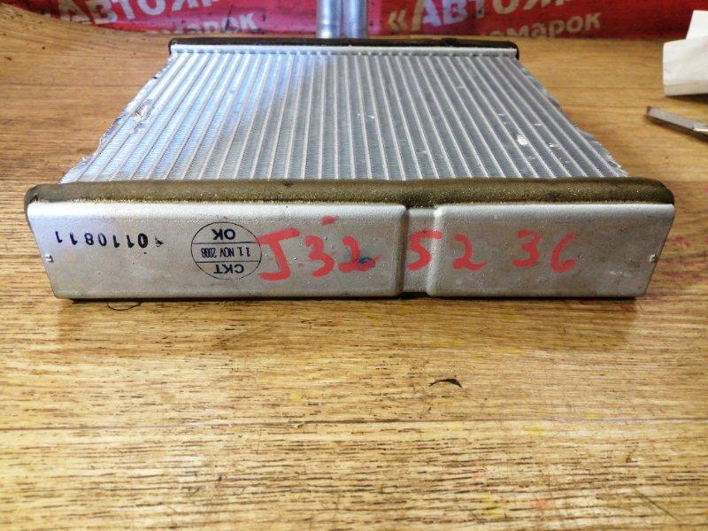 Радиатор печки Nissan Teana J32 VQ25DE 03.2009