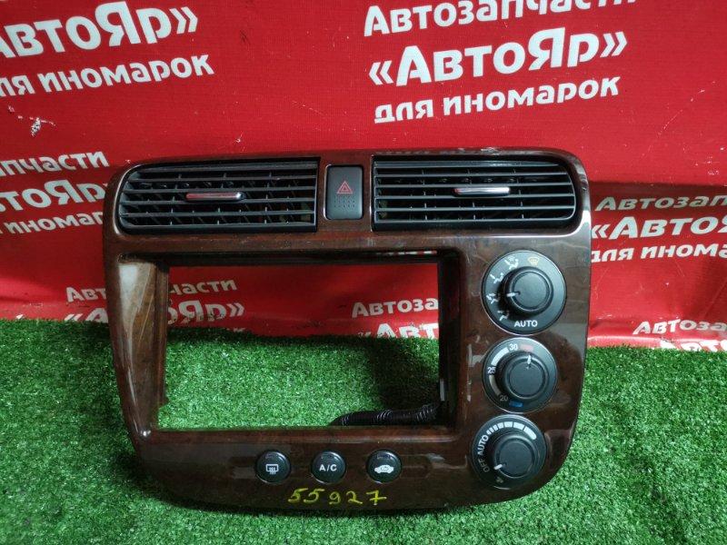 Блок управления климат-контролем Honda Civic Ferio ES2 D15B 08.2003 + рамка магнитофона с