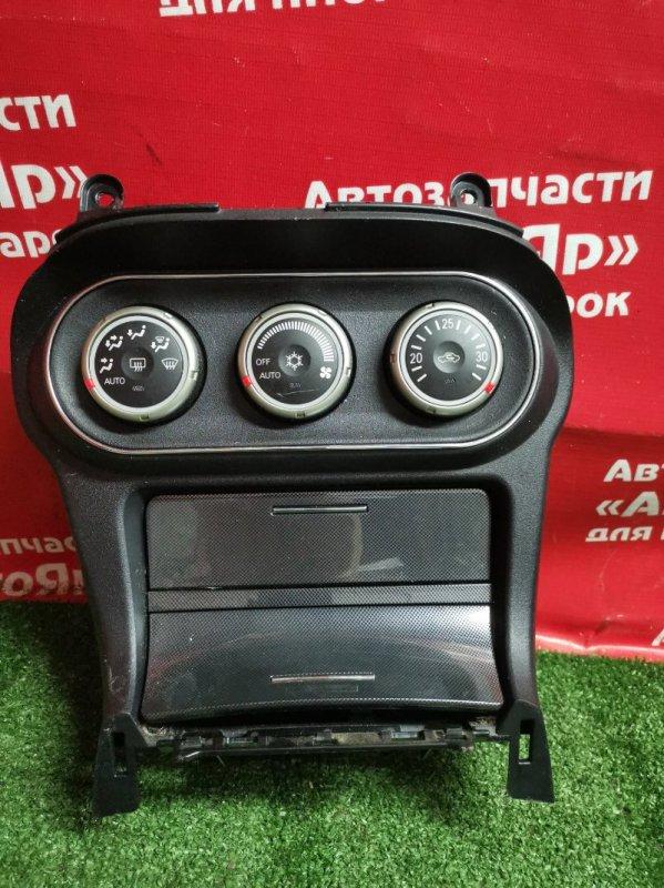 Блок управления климат-контролем Mitsubishi Lancer X CY4A 4B11 04.2009 7820A072XC + кармашек
