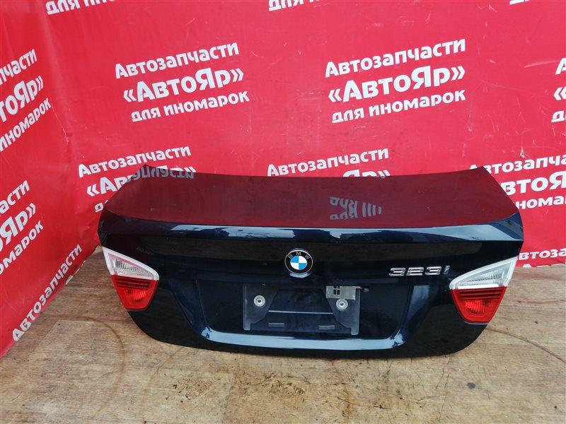 Крышка багажника Bmw 323I E90 N52B25A 10.2005 в сборе, Синий A35.