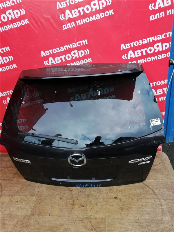 Дверь задняя Mazda Cx-7 ER3P L3-VDT 03.2007 в сборе. код краски 28W