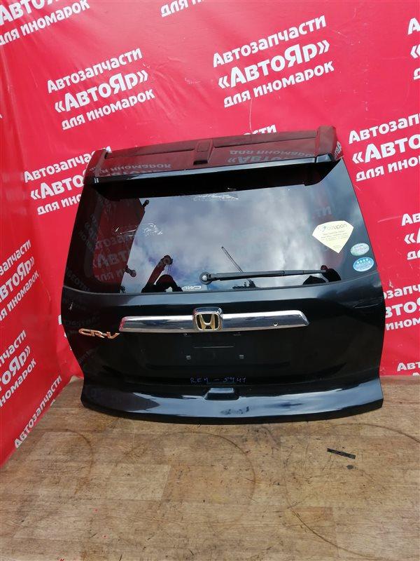 Дверь задняя Honda Cr-V RE4 K24A 12.2006 в сборе