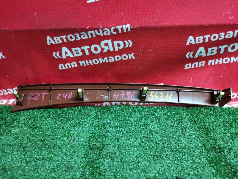 Накладка пластиковая в салон Toyota Allion ZZT240 1ZZ-FE 03.2005 55476-20120