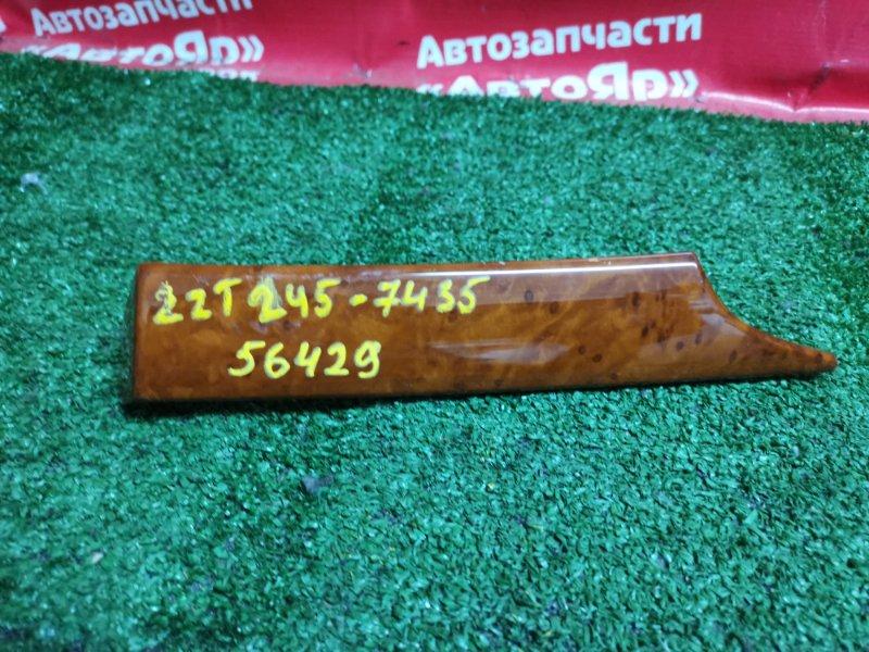 Накладка пластиковая в салон Toyota Premio ZZT245 1ZZ-FE 02.2005 55474-20110.. торпедо