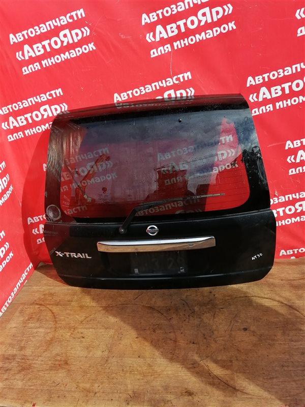 Дверь задняя Nissan X-Trail NT30 QR20DE 07.2005 в сборе