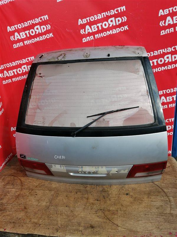 Дверь задняя Toyota Estima Emina CXR20G 3C-TE 01.1996 в сборе