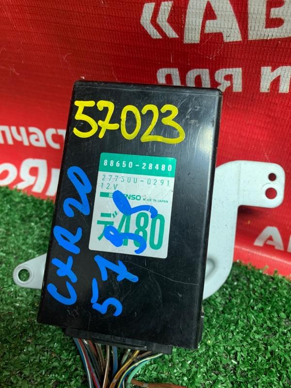Блок управления кондиционером Toyota Estima Emina CXR20G 3C-TE 07.1996 88650-28480