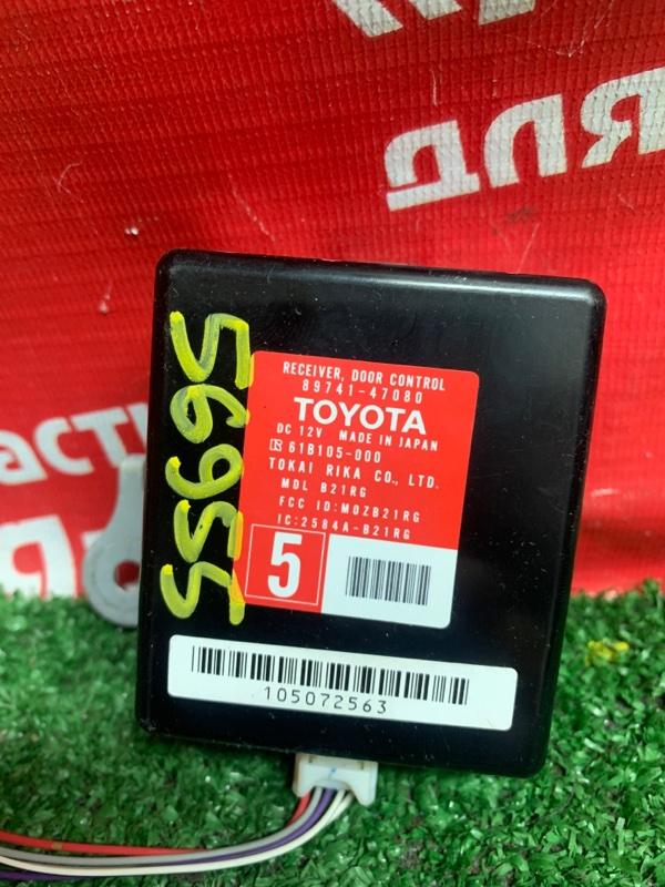 Блок управления дверьми Toyota Prius NHW20 1NZ-FXE 02.2005 89741-47080