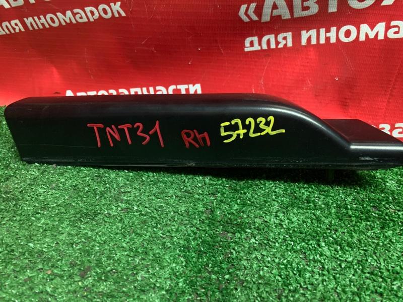 Рейлинги Nissan X-Trail TNT31 QR25DE 09.2007 правые накладка на рейлинг 73870-jg000