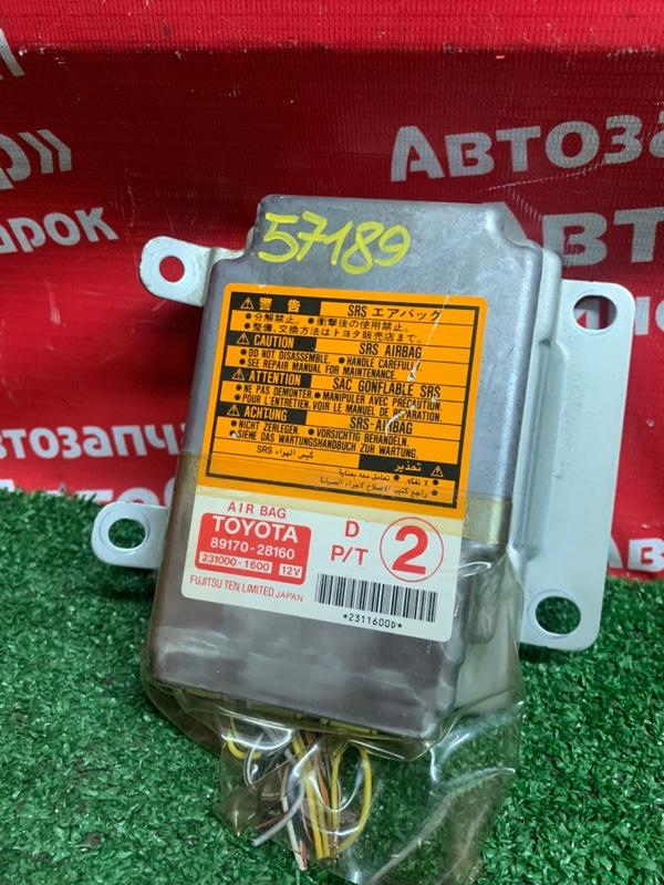 Блок управления airbag Toyota Liteace Noah CR52V 3C-E 02.2002 89170-28160