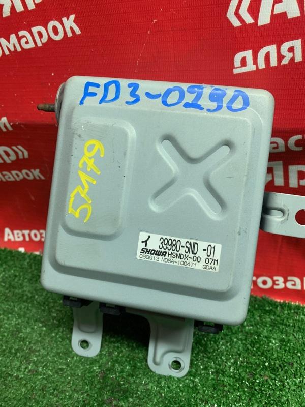 Блок управления рулевой рейкой Honda Civic Hybrid FD3 LDA 09.2006 39980-snd-01