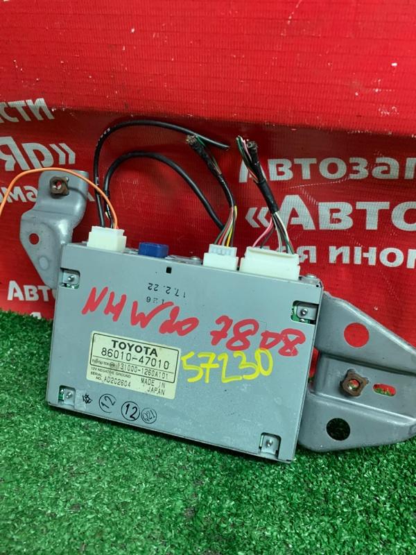 Блок навигации Toyota Prius NHW20 1NZ-FXE 02.2005 86010-47010