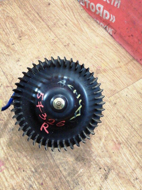 Вентилятор (мотор отопителя) Toyota Regius RCH47W 3RZ-FE 10.1999 задний